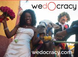 wedocracy #socialwedding planning has arrived!