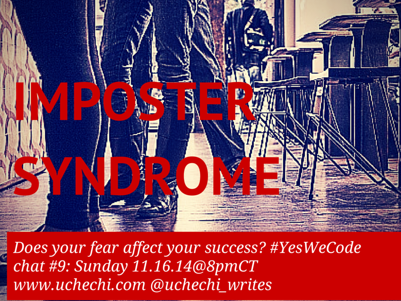 #Yeswecode chat #9: Does Impostor Syndrome affect your success in tech?
