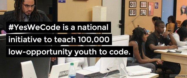 #YesWeCode Twitter Chat: Diversity in tech & creative ideas to move forward