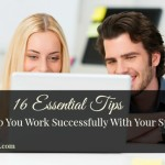 16 Essential Tips For Working Successfully With Your Spouse