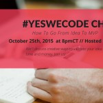 YesWeCode Chat 30: How To Go From Startup Idea To MVP