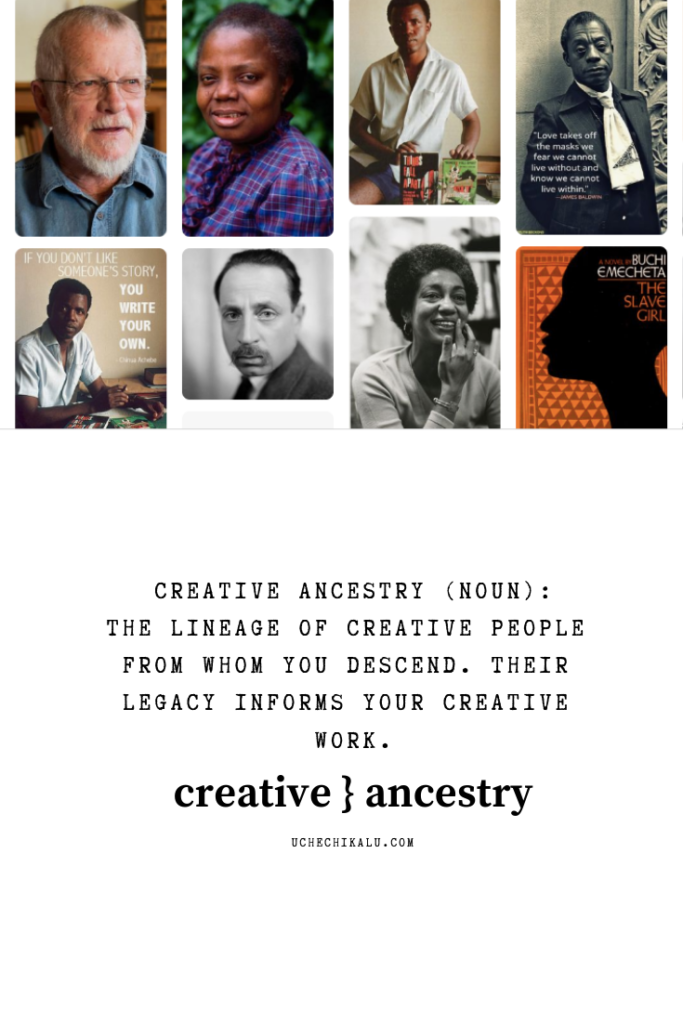 creative ancestry: the power of owning your creative lineage